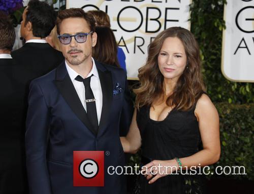 Robert Downey Jr. and Susan Downey 1