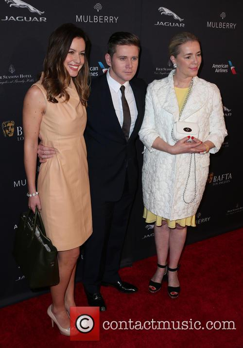 Charlie Webster, Allen Leech and Anne-marie Verdin