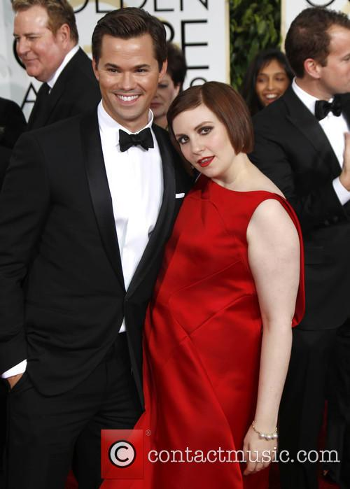 Lena Dunham and Andrew Rannels 3