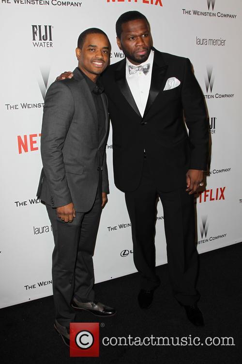 50 Cent, Larenz Tate and Curtis Jackson