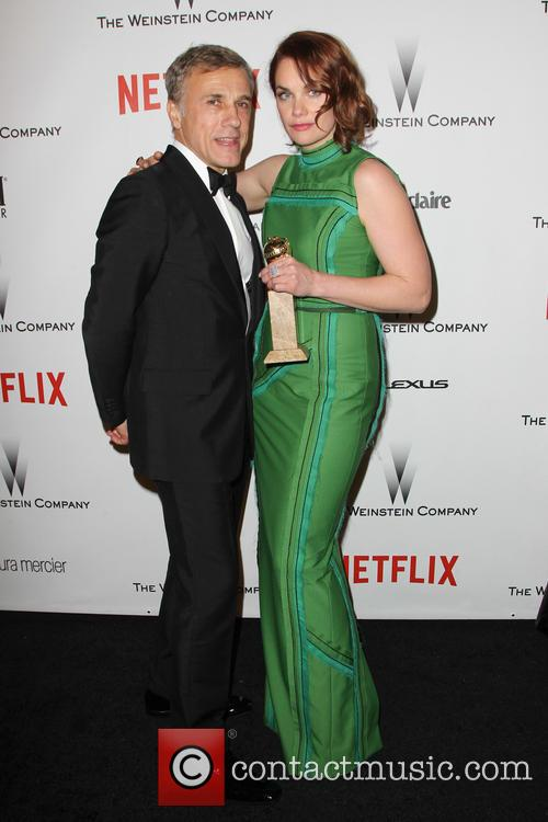 Christoph Waltz and Ruth Wilson 5