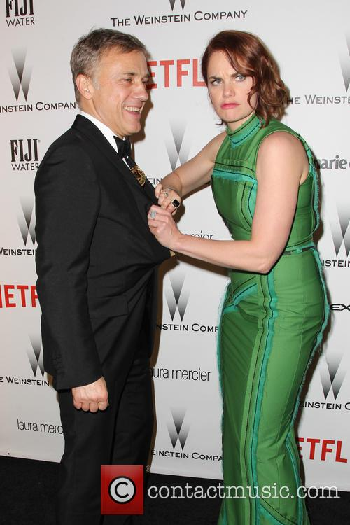 Christoph Waltz and Ruth Wilson 8