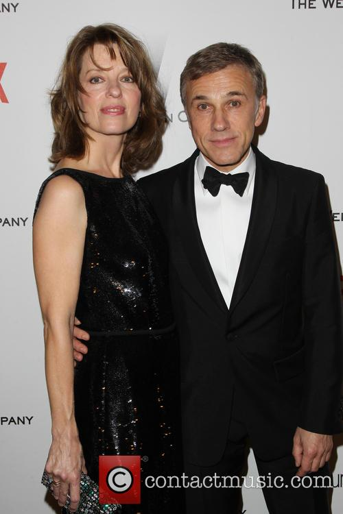 Judith Holste and Christoph Waltz 1