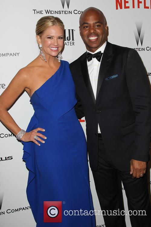 Nancy O'dell and Kevin Frazier 2