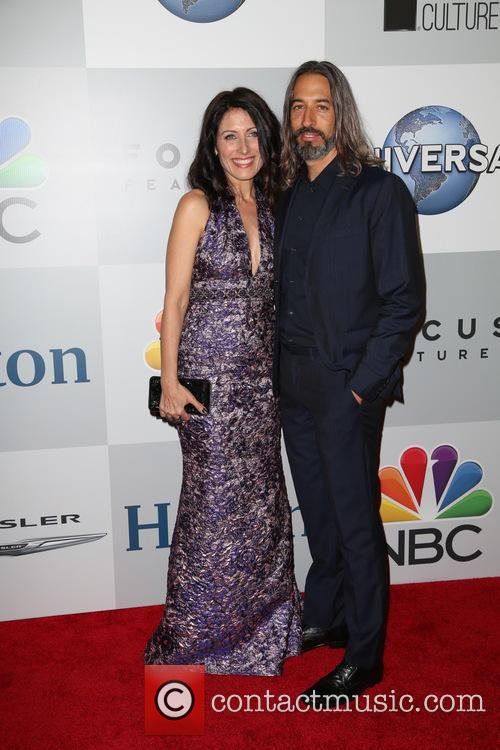Lisa Edelstein and Robert Russell 1