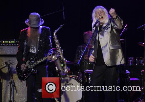 Billy Gibbons and Edgar Winter