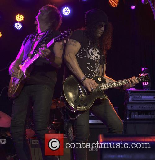 Richie Sambora and Slash