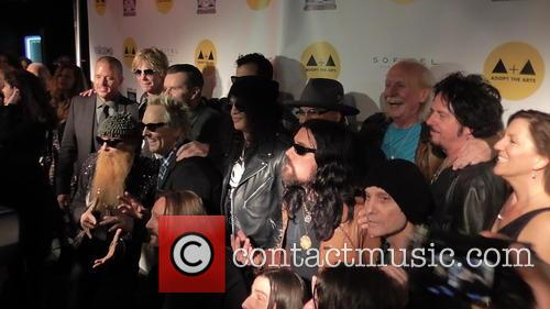Matt Sorum, Slash, Billy Gibbons, Butch Trucks and Duff Mckagan 2