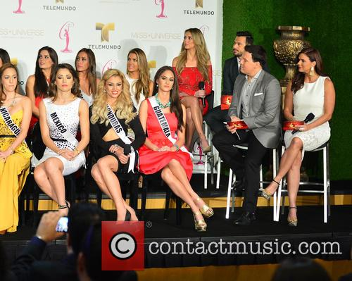 Miss Universe contestants from Latin America and Spain