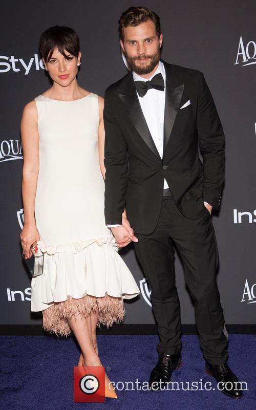 Jamie Dornan and Amelia Warner 2