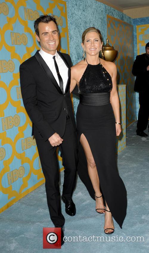 Justin Theroux and Jennifer Aniston 4
