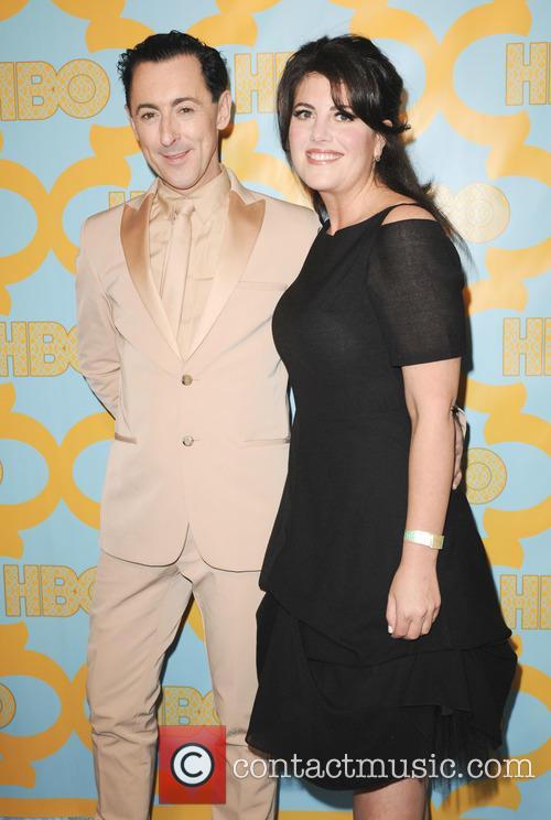 Monica Lewinsky and Alan Cumming 8