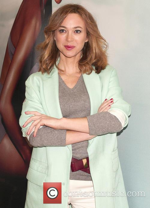 Marta Hazas presents the official cosmetic for the...