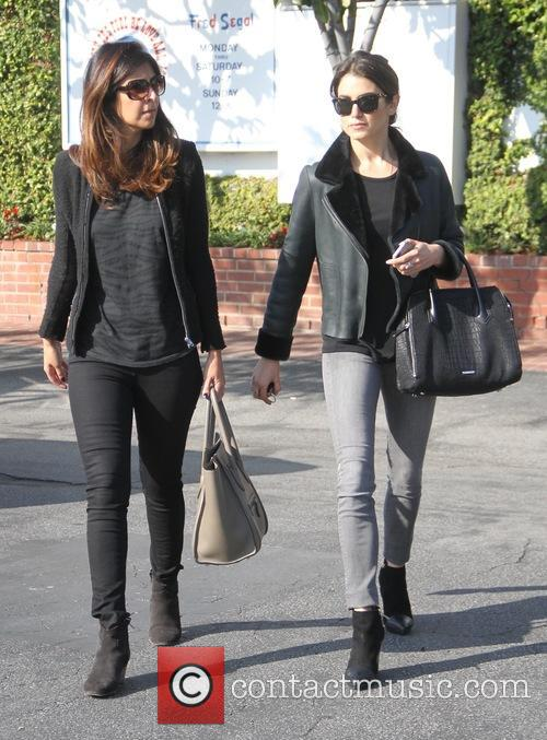 Nikki Reed goes shopping at Fred Segal