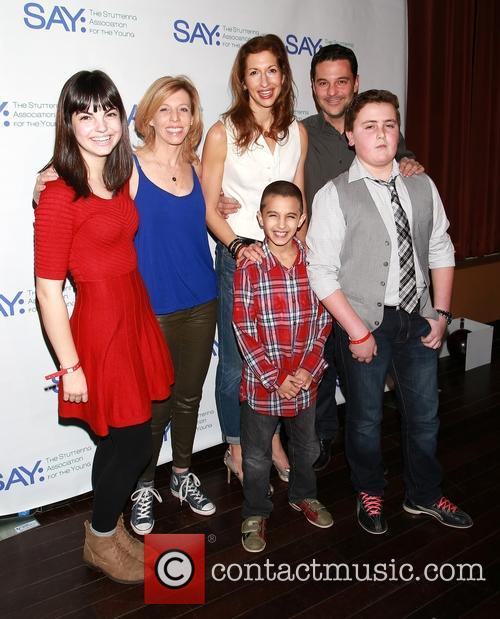 Maddie Corman, Alysia Reiner, David Alan Basche and Say Kids