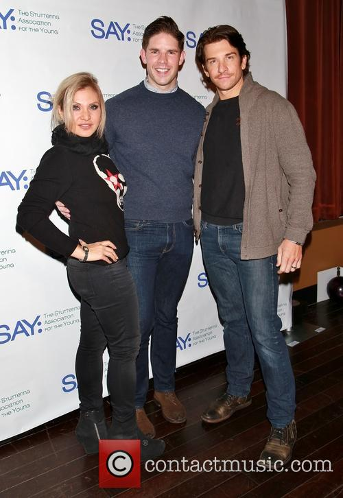 Orfeh, Frank Dilella and Andy Karl 1