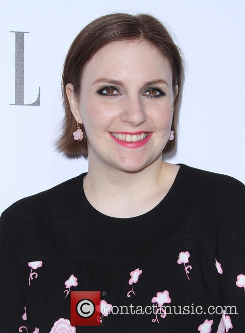 Lena Dunham at Elle Women in TV event