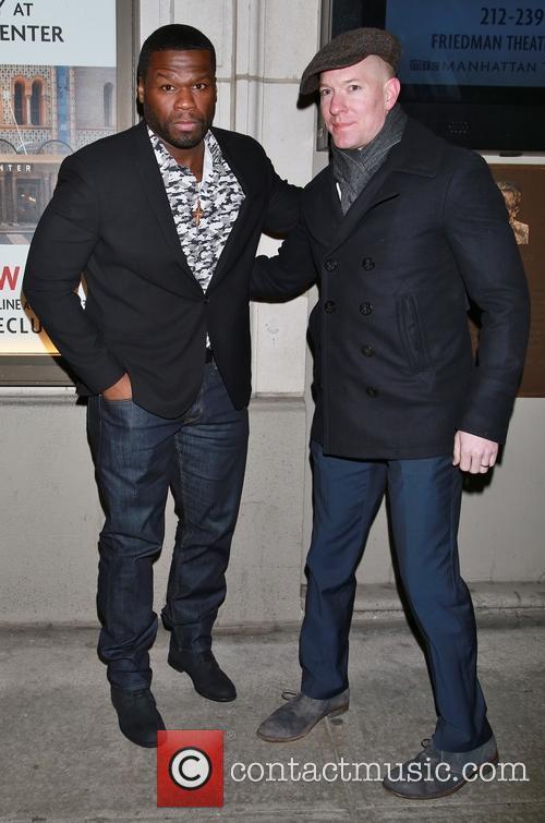 50 Cent, Curtis Jackson and Joseph Sikora 2