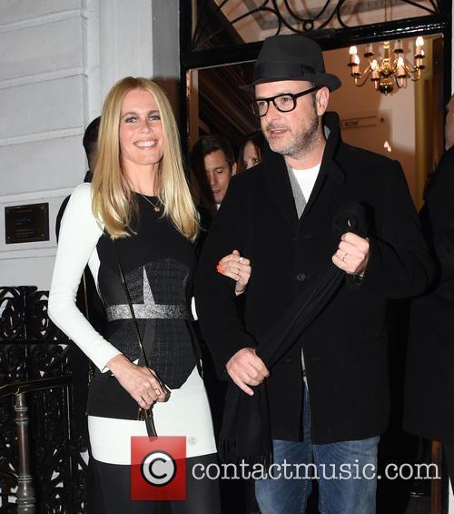 Claudia Schiffer and Mathew Vaughn 2