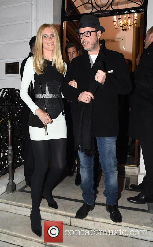 Claudia Schiffer and Mathew Vaughn 5