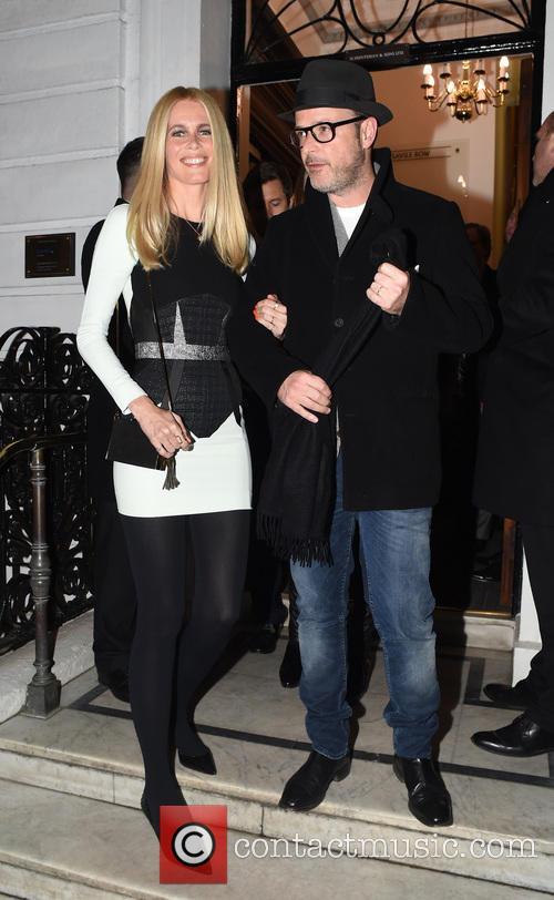 Claudia Schiffer and Mathew Vaughn 6