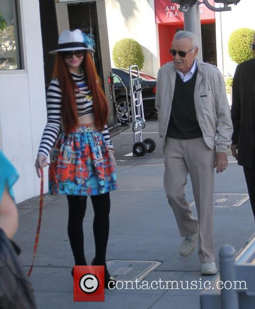 Stan Lee and Phoebe Price 8