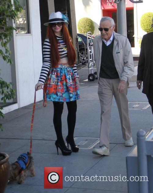 Stan Lee and Phoebe Price 9