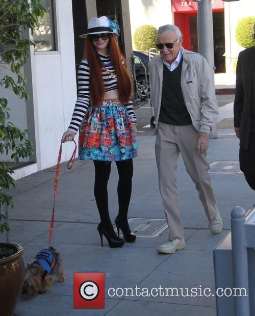 Stan Lee and Phoebe Price 10