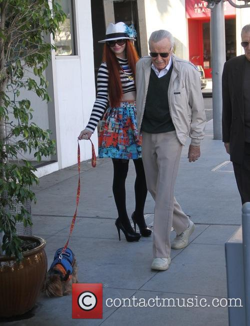 Stan Lee and Phoebe Price 11