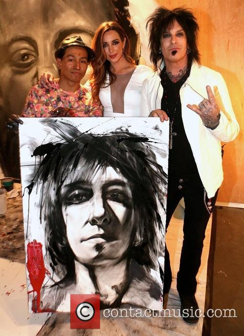 Robert Vargas, Courtney Sixx and Nikki Sixx 1