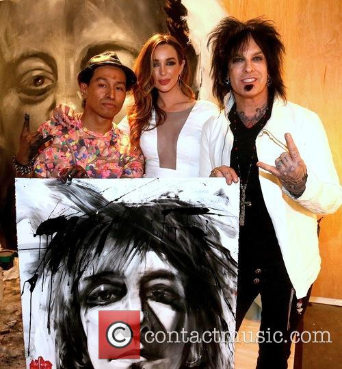 Robert Vargas, Courtney Sixx and Nikki Sixx 3