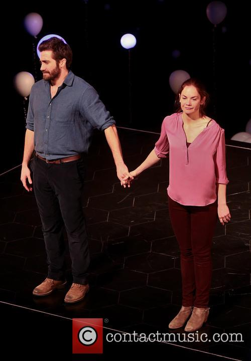Opening night curtain call for Broadway's 'Constellations'