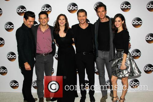 Dominic Cooper, Enver Gjokaj, Hayley Atwell, Chad Michael Murray, James D'arcy and Lyndsy Fonseca