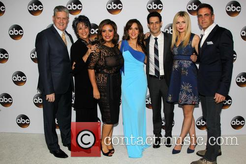 Sam Mcmurray, Terry Hoyos, Cristela Alonzo, Maria Canals Barrera, Carlos Ponce, Justine Lupe and Andrew Harrison Leeds 2