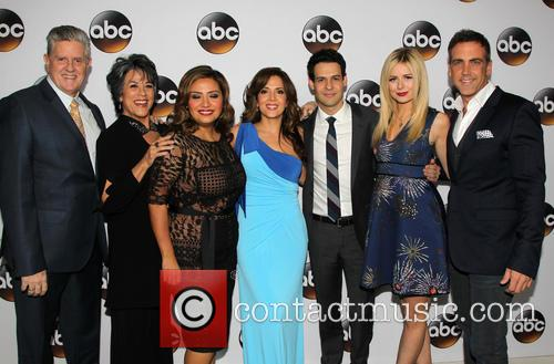 Sam Mcmurray, Terry Hoyos, Cristela Alonzo, Maria Canals Barrera, Carlos Ponce, Justine Lupe and Andrew Harrison Leeds 1