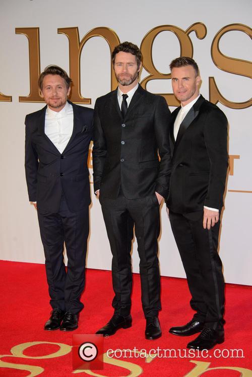 Take That, Gary Barlow, Howard Donald and Mark Owen 9