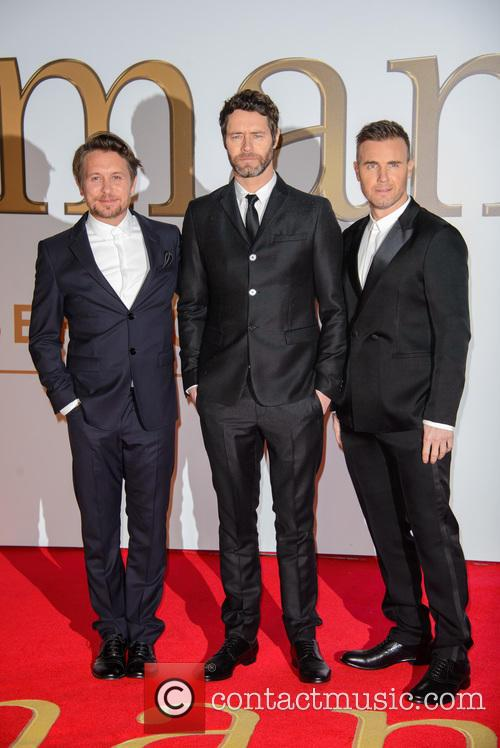 Take That, Gary Barlow, Howard Donald and Mark Owen 11