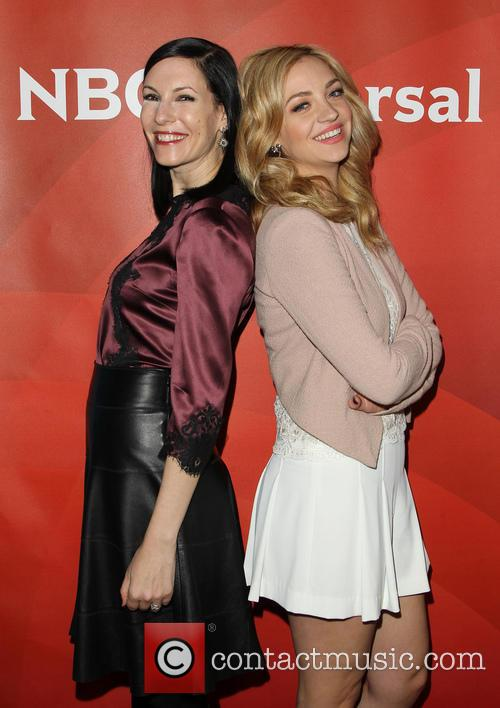 Jill Kargman and Abby Elliott 11