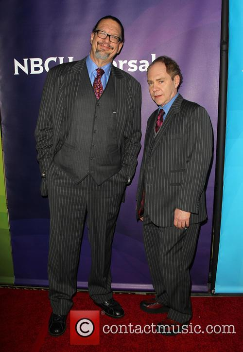 Pen Jillette and Teller 2