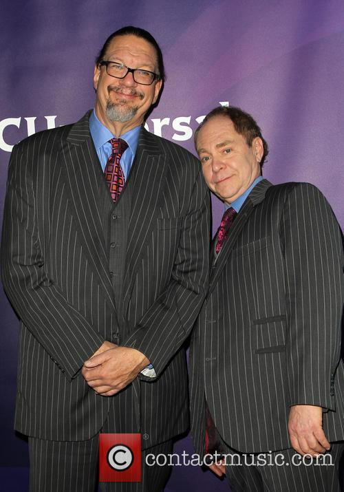 Pen Jillette and Teller 5