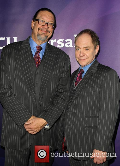 Pen Jillette and Teller 1