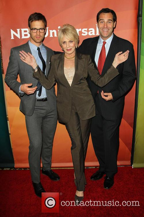 Sean Kleier, Joanna Cassidy and Andy Buckley 6