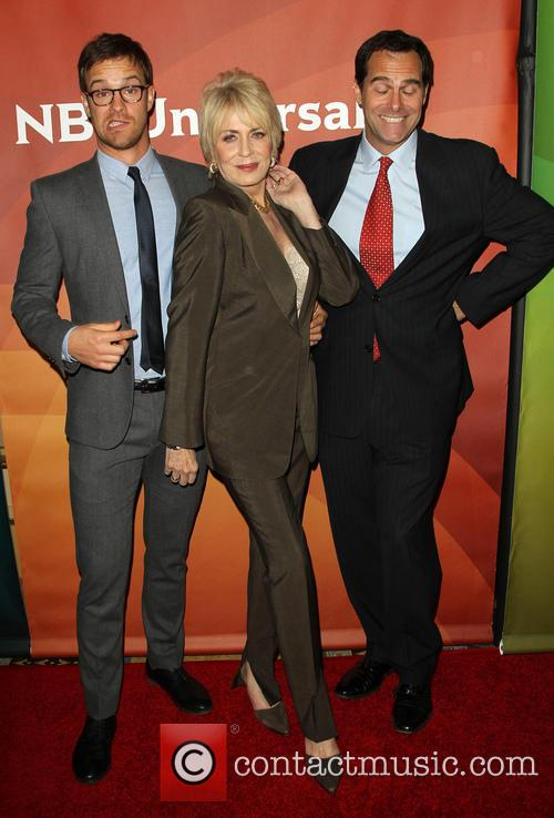 Sean Kleier, Joanna Cassidy and Andy Buckley 7