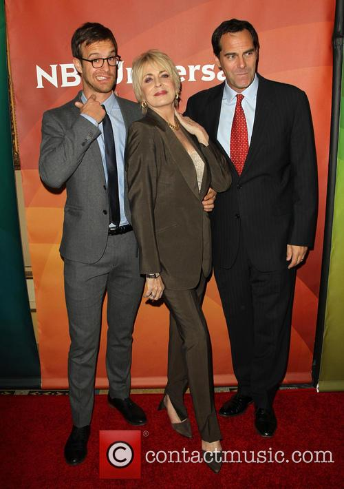 Sean Kleier, Joanna Cassidy and Andy Buckley 8