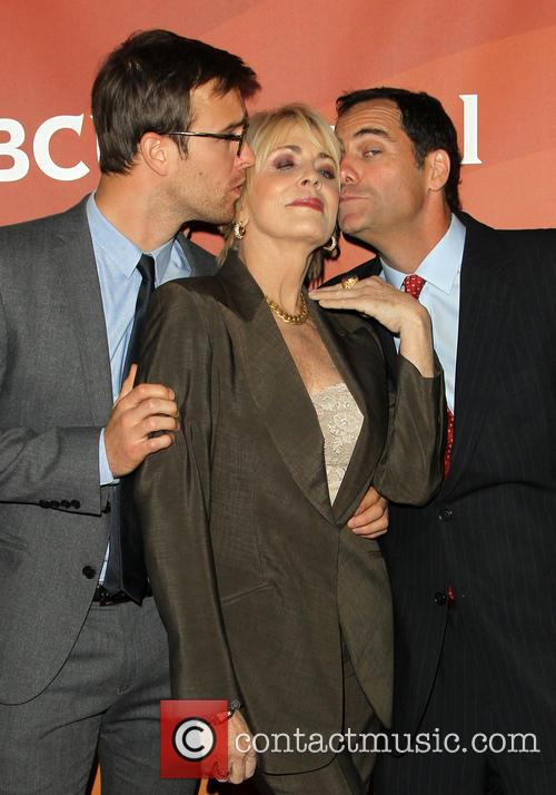 Sean Kleier, Joanna Cassidy and Andy Buckley 9