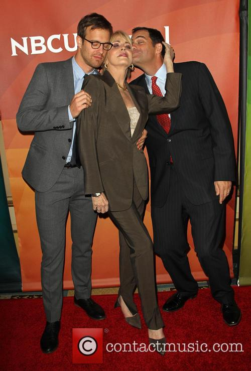 Sean Kleier, Joanna Cassidy and Andy Buckley 10
