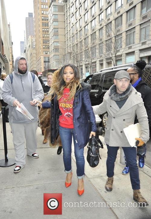 Christina Milian at 'The Wendy Williams Show'