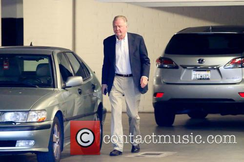 Jon Voight arriving at his office in Beverly...