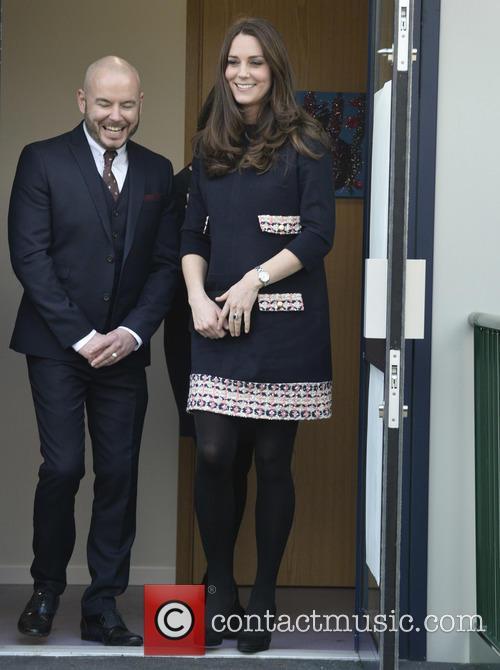 Duchess of Cambridge names Clore Art Room in...