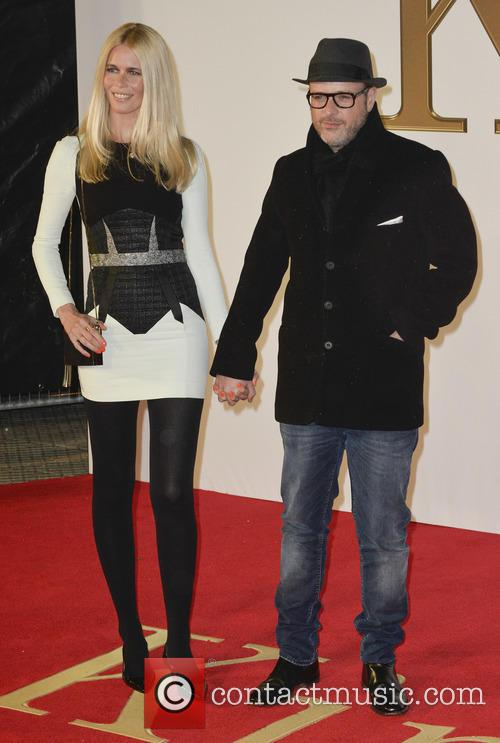 Claudia Schiffer and Matthew Vaughn 5